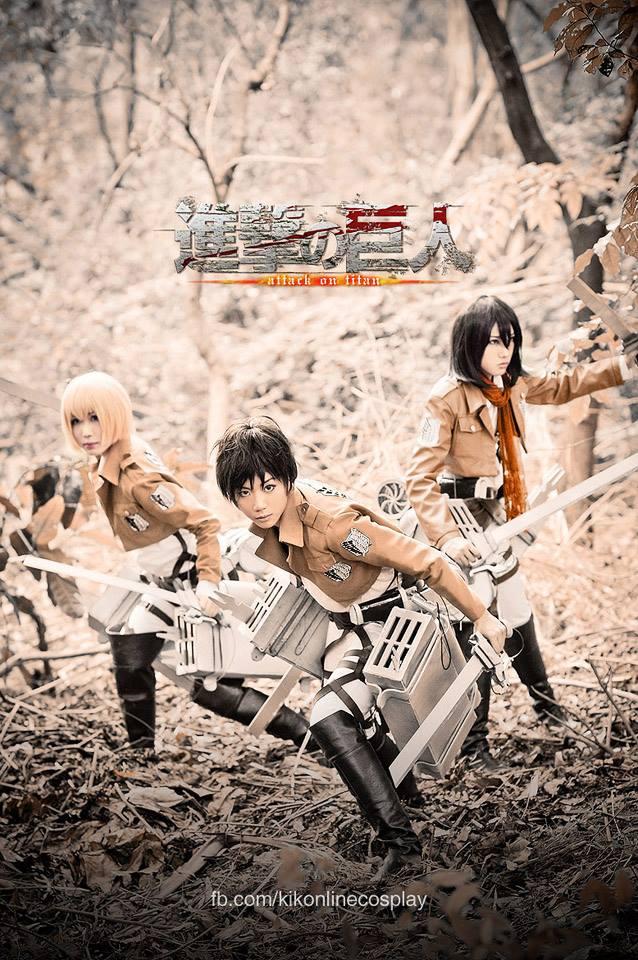 Shingeki No Kyojin Eren Mikasa Armin By Rabbitruka On Deviantart