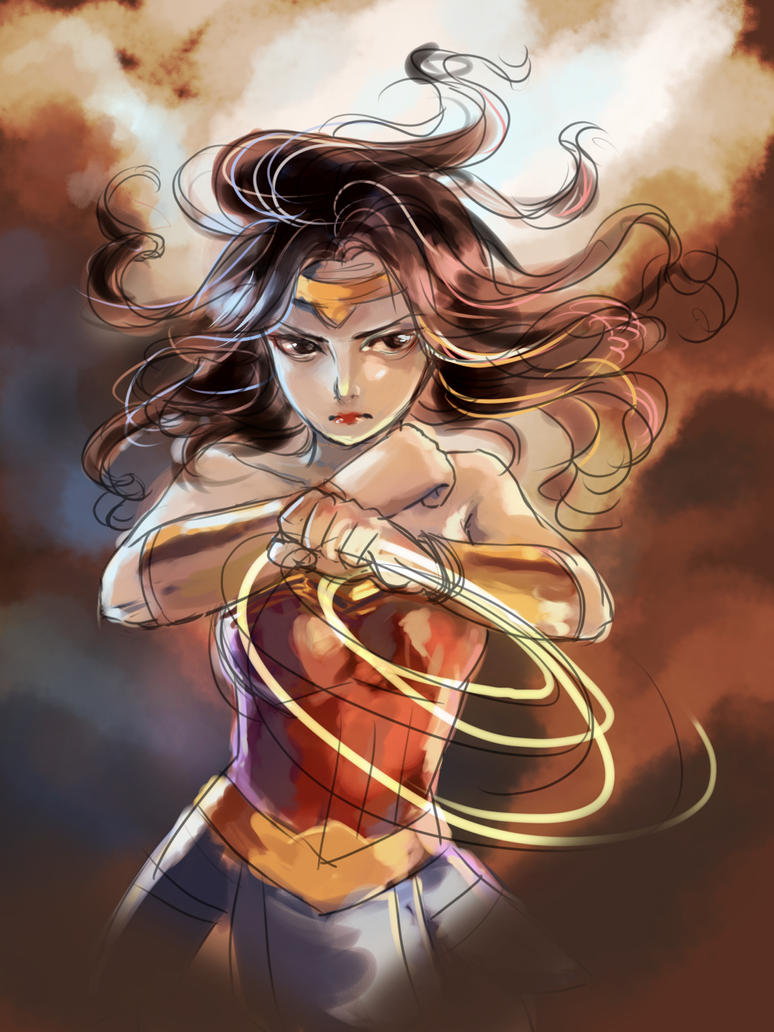 Wonder Woman WIP by milysnow