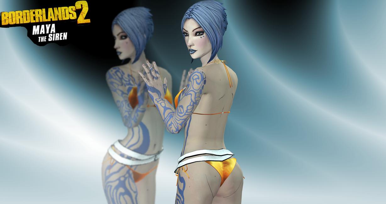 Borderlands nude skins nude pics