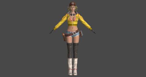 Final Fantasy XV: Cindy Aurum by EvgeniyNoname
