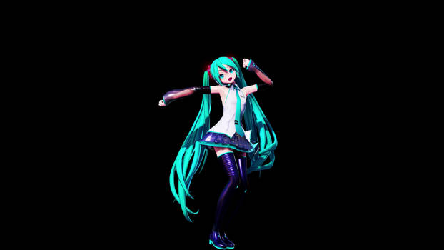 Project Diva Future Tone x MMD Lucky Orb.