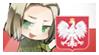 APH Poland Stamp by Fannochka