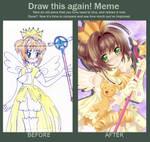 Draw This Again.Sakura by Fannochka