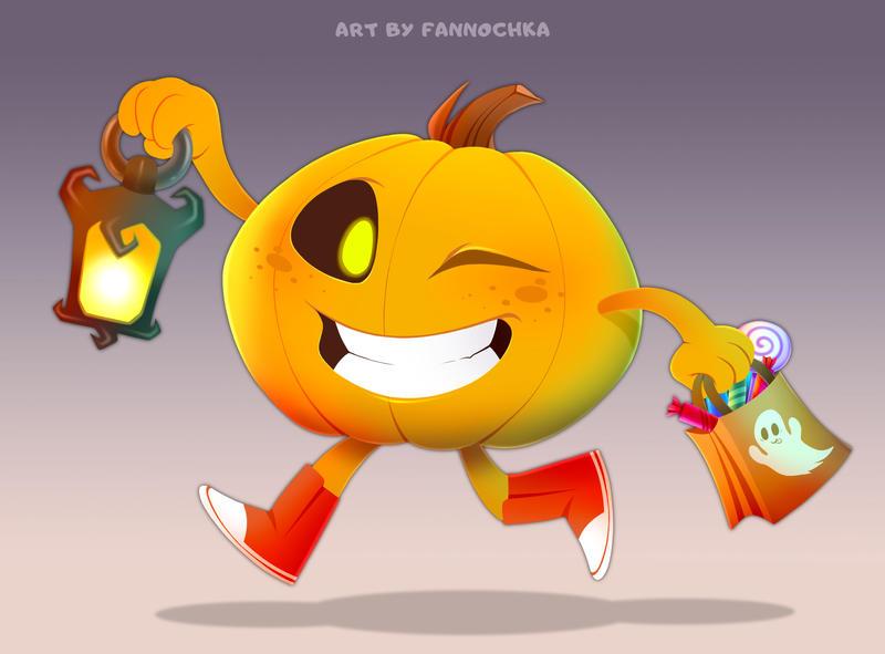 Pumpkin by Fannochka