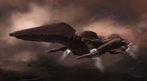 Interstellar Pterodactyl Dropship