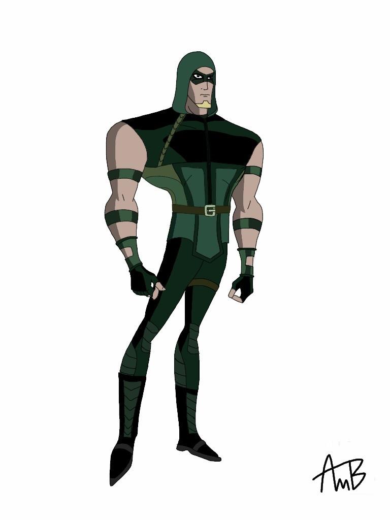 DCAU Green Arrow by Alex-Brownstone on DeviantArt