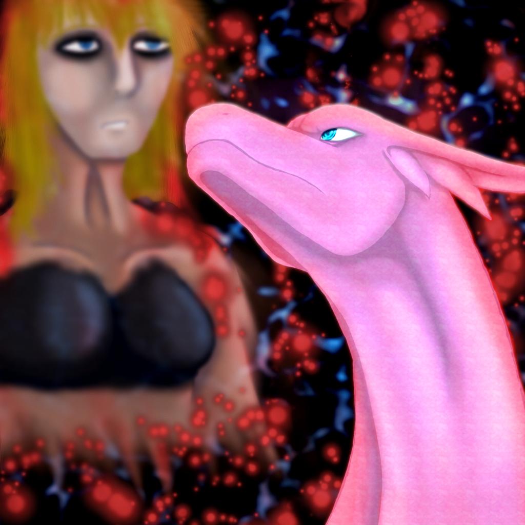 Sapphire and Red by DraconaVampira