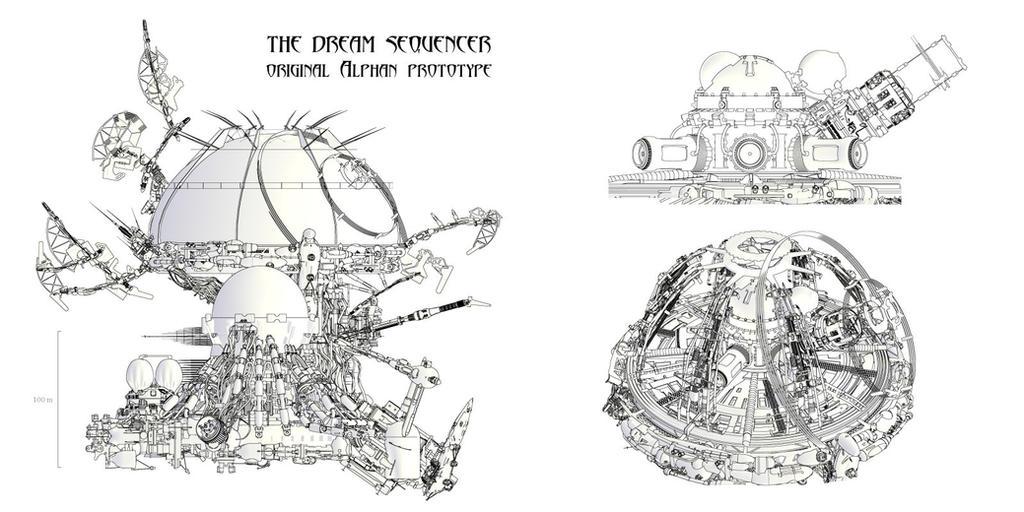 Ayreon-Blueprint-The dream sequencer by Yann-S