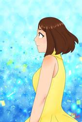 My Hero Academia - Ochako Uraraka by SenpaiOrKouhai