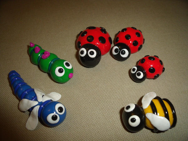 Fimo insectes by ladyanwynn on deviantart - Idee pate fimo simple ...
