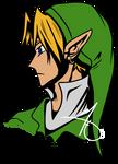 OoT Adult Link style play headshot