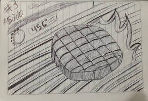 #inktober #inktober2018 #3 Asado