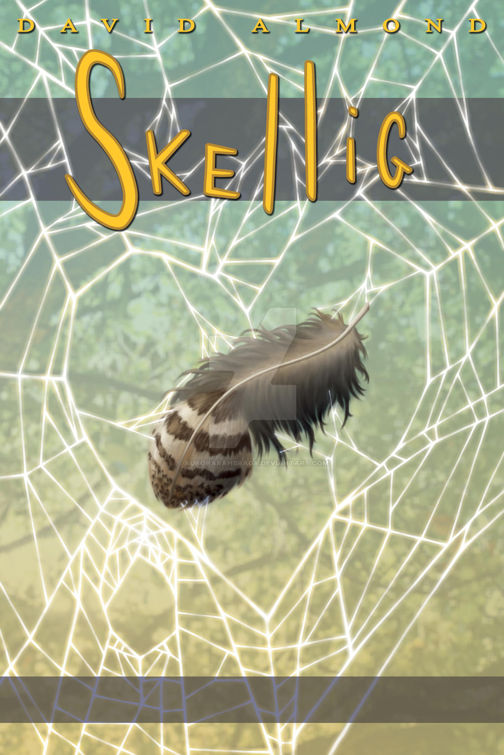 Book Cover Art Submissions : Skellig book cover by aurorarahbraga on deviantart