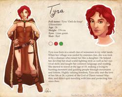 Commission60 - Tyra Refsheet by NikeMV