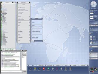 My Pixxy Desktop by vectornut
