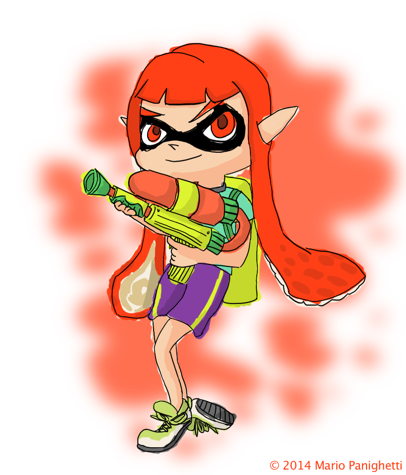 Splatoon Lady (deviantART)