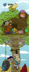 Tree Fort by JessieDrawz