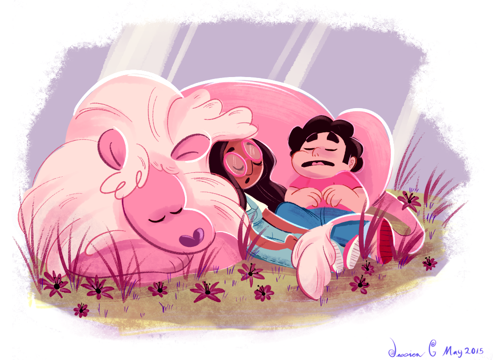 I just gonna leave this lovely SU fanart here for now for the sake of updating. Sorry for the inactivity! I will back with more new art soon. I will explain whats been going on shortly.