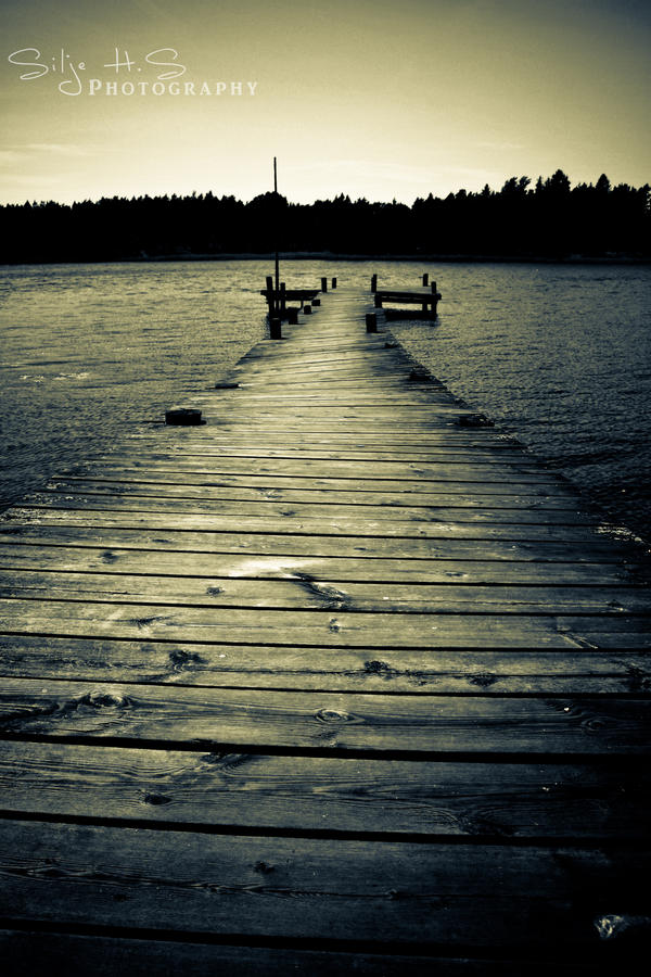 The dock by shhilja