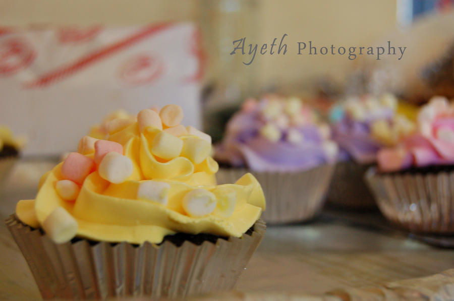 cup cake mallows by ayeth0914