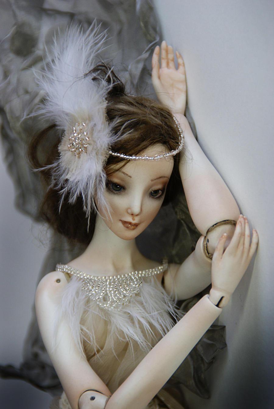 Porcelain doll by AlinaRa