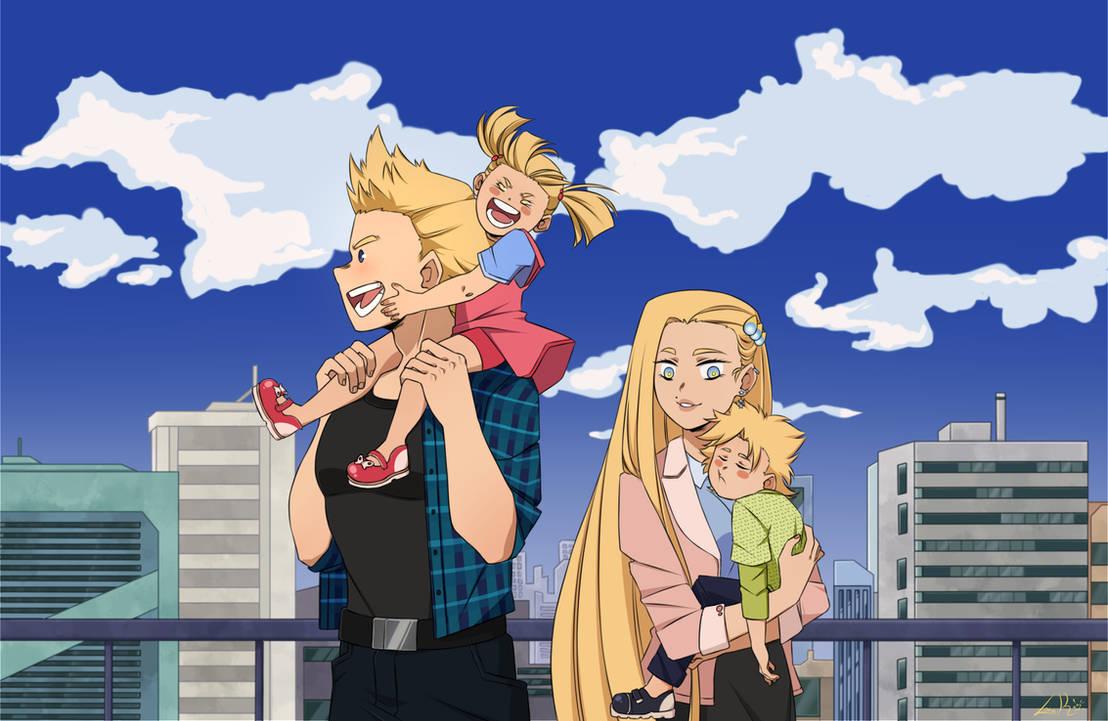 [BNHA OC] Family