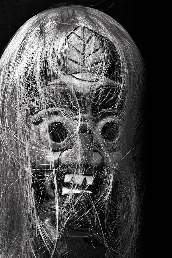 Mask of Childhood Nightmares by skorpiusdeviant
