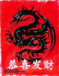 Gong Xi Fa Cai - Happy Chinese New Year - Dragon L