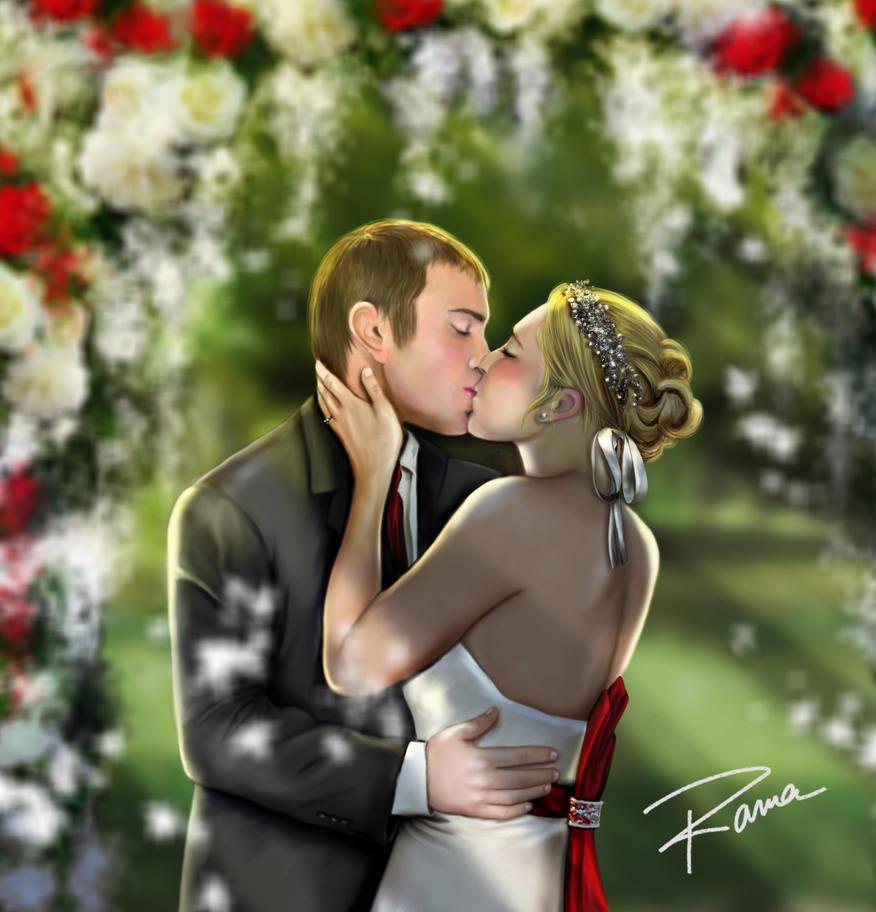 Dawn and Ryan's Wedding by creepingninja