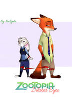 Zootopia comic - Dilated eyes - Cover by OceRydia