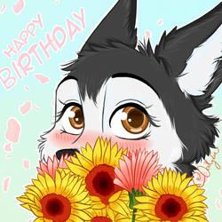 [Furry Icon] Nix Happy Birthday