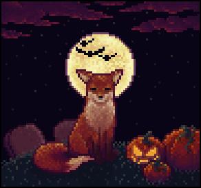 Halloween Fox by Reebela
