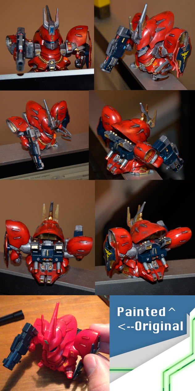 My First Painted Gundam by Dioxim