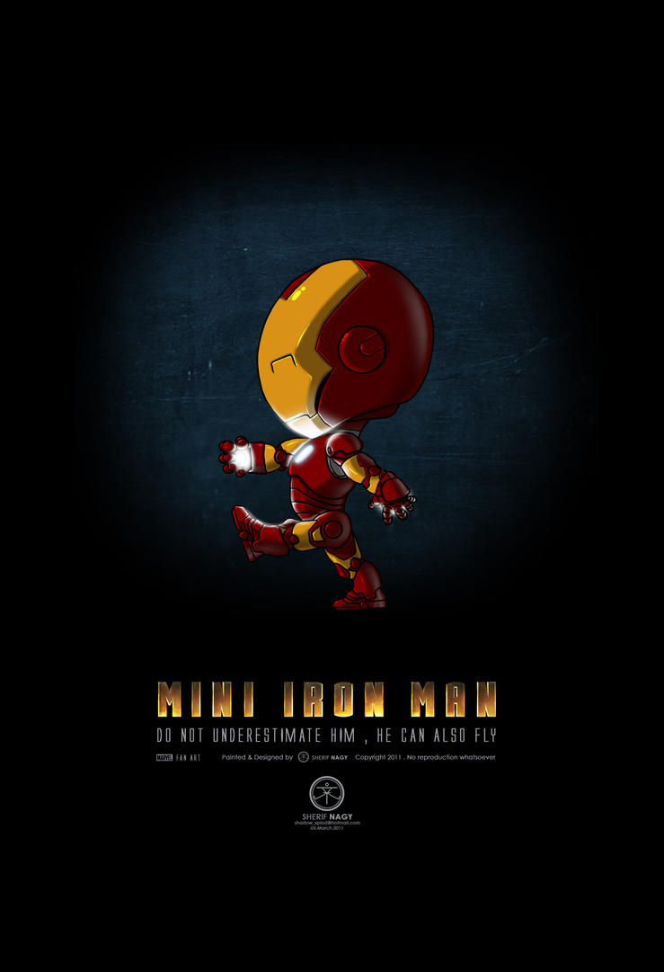Mini iron man by sherifnagy on deviantart - Mini iron man ...