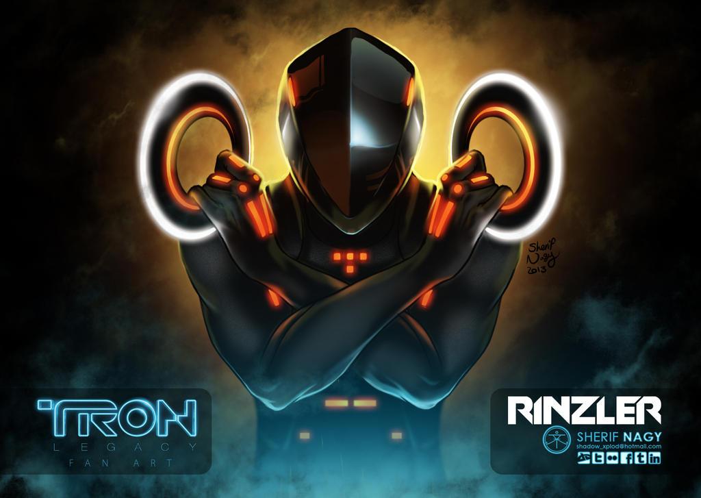 RINZLER - TRON : LEGACY - FANART by SherifNagy