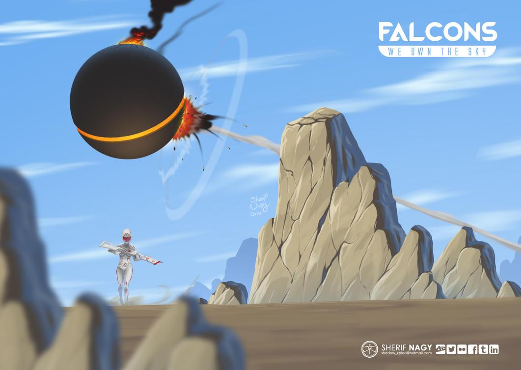 Falcons by SherifNagy