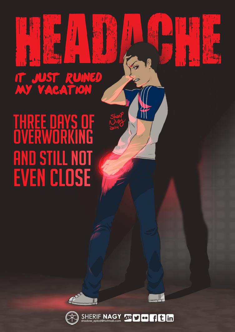 Headache by SherifNagy