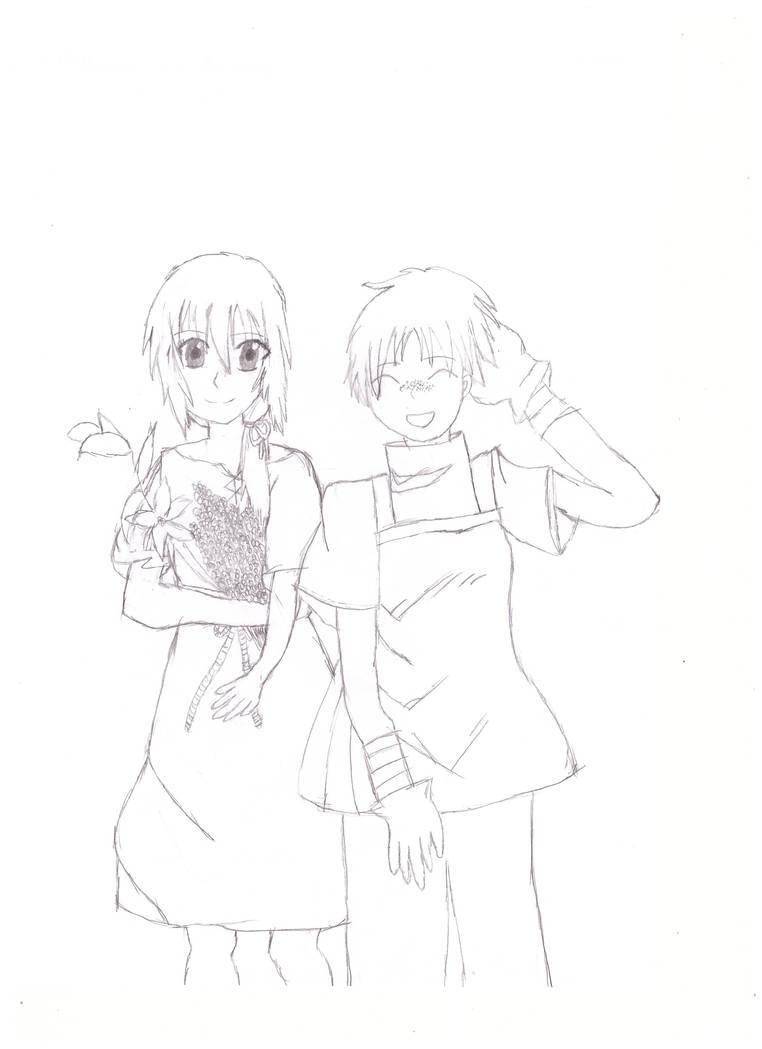 Agasha and Pefko