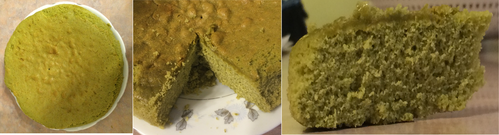Green Tea Cake by Purestrongpoem