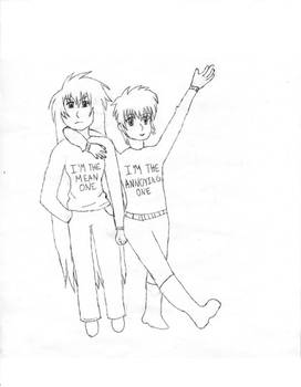Violate And Regulus' sweaters