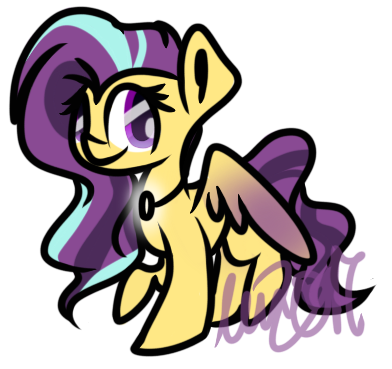 |G| A glowing necklace? by sugashx