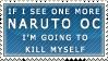 Naruto OC Stamp by sugartart