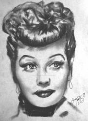 Lucille Ball by AngeleaMarie