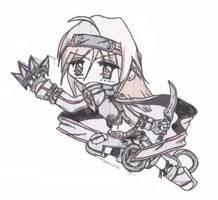 Chibi Ninja Girl by storph
