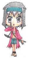 Chibi Rin Armor On