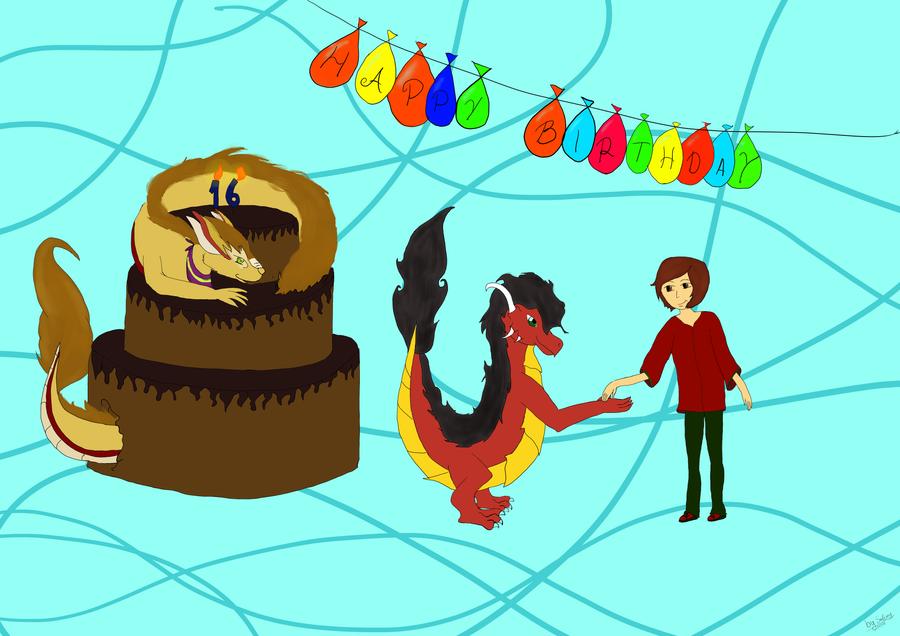 Birthday gift for Flitz by Salemy