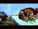 Lara Croft creates Kurtis by Shock6000