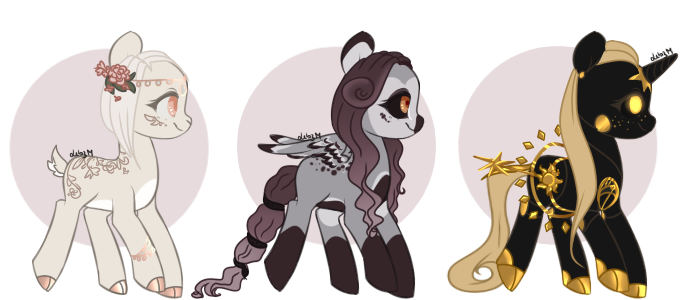 Aesthetic Adoptables (CLOSED) by Lebazardesmondes