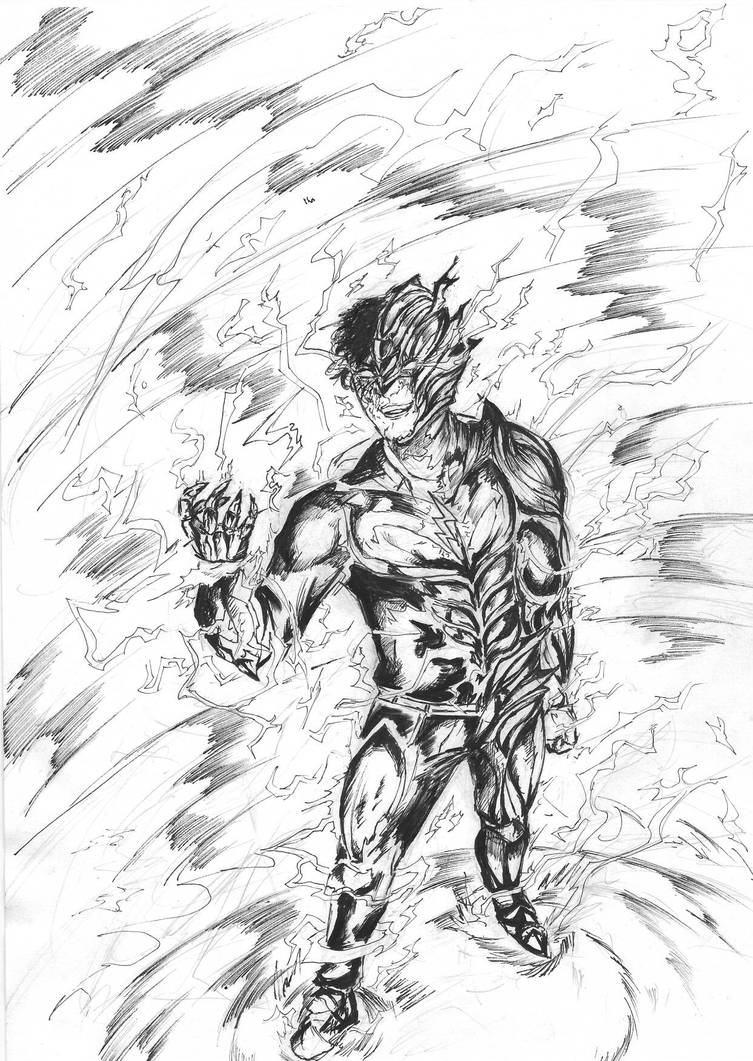 W i p savitar the god of speed by y drawings