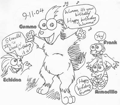 Gummo's Birthday